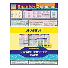 QuickStudy Grade Booster Pack Spanish