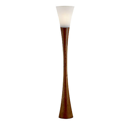 Adesso espresso floor lamp 68 h walnut by office depot officemax adesso espresso floor lamp 68 h mozeypictures Gallery