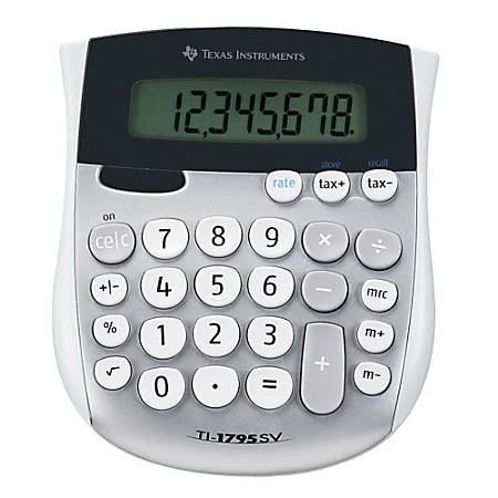 Texas Instruments® TI-1795SV Desktop Display Calculator