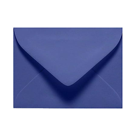 """LUX Mini Envelopes With Moisture Closure, #17, 2 11/16"""" x 3 11/16"""", Boardwalk Blue, Pack Of 250"""
