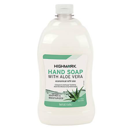 Highmark® Aloe Liquid Hand Soap, 56 Oz