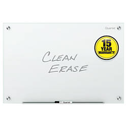 Quartet Infinity Frameless Glass Dry Erase