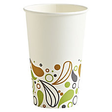 Boardwalk Deerfield Printed Paper Hot Cups
