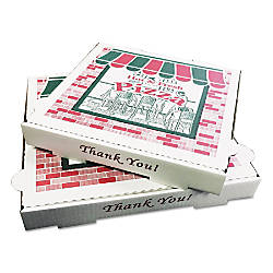 PIZZA Box Takeout Containers 12 White
