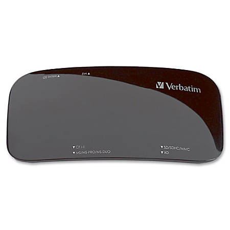 Verbatim USB 2.0 Universal Card Reader, Black