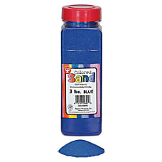 Hygloss Colored Sand 1 Each Blue
