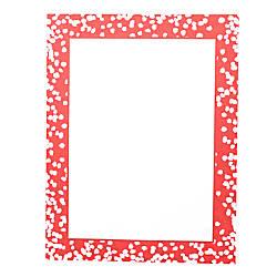 Gartner Studios Holiday Stationery Sheets Red