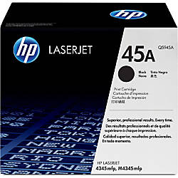 HP 45A Black Original Toner Cartridge