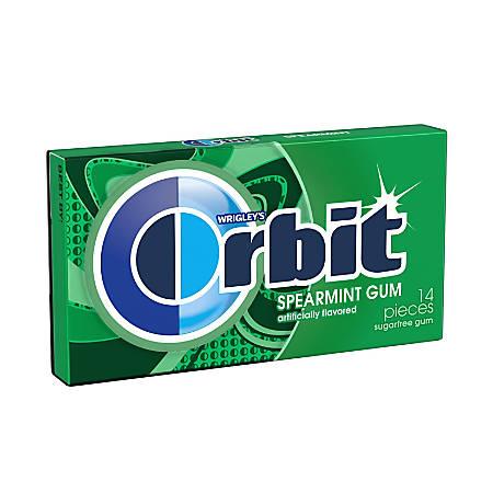 Orbit® Gum, Spearmint, 0.5 Oz