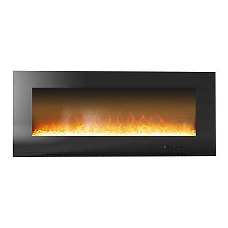 Cambridge Metropolitan CAM56WMEF-1BLK Electric Fireplace