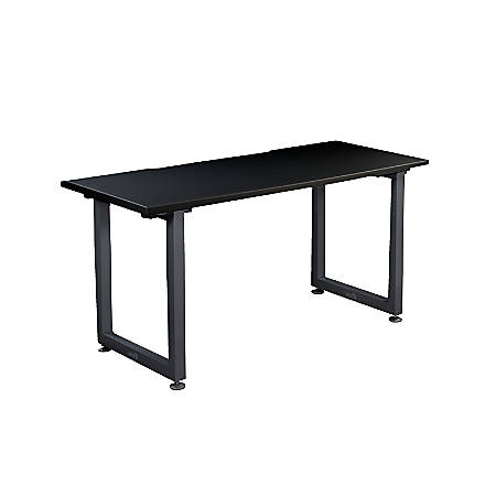 "VARIDESK QuickPro Desk, 60"" x 24"", Black/Slate"