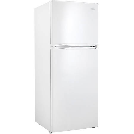 Danby DFF100C1WDB Refrigerator/Freezer - 10 ft³ - No-frost - Reversible - 120 V AC - 330 kWh per Year - White - Wire Shelf, Glass, Steel - LED Light