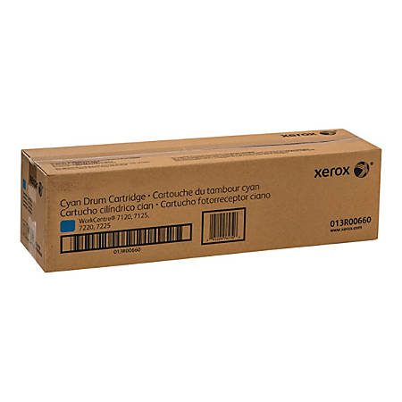 Xerox WorkCentre 7220i/7225i - Cyan - drum kit - for WorkCentre 7120, 7125, 7220, 7225