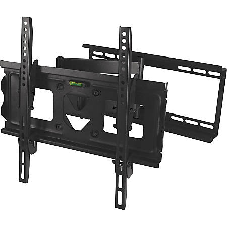 "SIIG Full Motion 23"" to 42"" TV Wall Mount - For Flat Panel Display - 23"" to 42"" Screen Support - 100 lb Load Capacity"