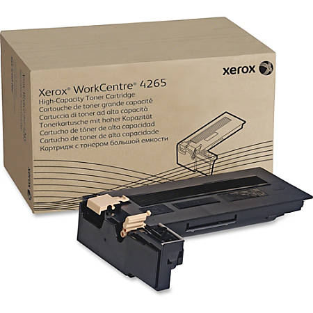Xerox Toner Cartridge - Laser - High Yield - 25000 Pages - Black - 1 Each