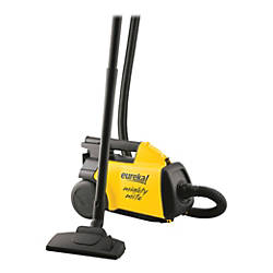 Eureka Mighty Mite Canister Vacuum BlackYellow