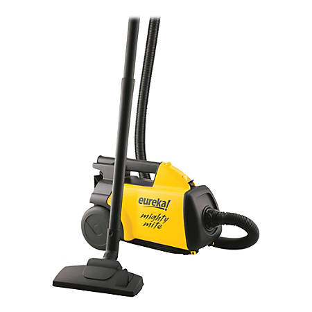 Eureka Mighty Mite® Canister Vacuum, Black/Yellow