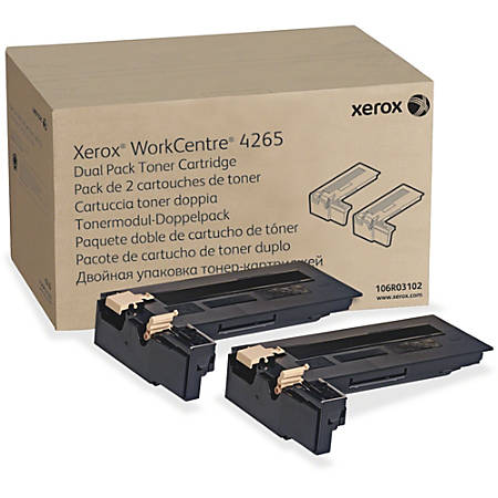 Xerox Original Toner Cartridge - Laser - Extra High Yield - 25000 Pages (Per Cartridge) - Black - 1 Each