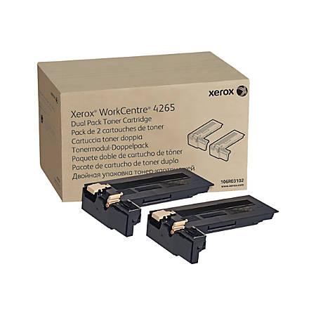 Xerox WorkCentre 4265 - 2-pack - Dual Capacity - black - original - toner cartridge - for WorkCentre 4265