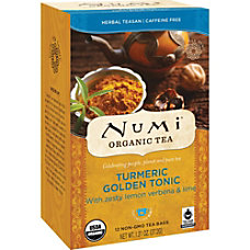 Numi Turmeric Organic Tea Dried Lime