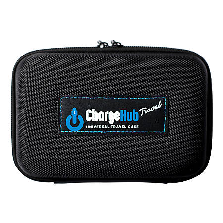 ChargeHub Travel And Storage Case, Black