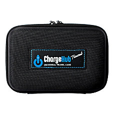 ChargeHub Travel And Storage Case Black
