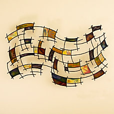 Southern Enterprises Abstract Metal Wall Art