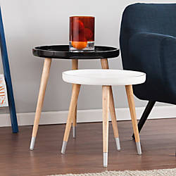 Holly Martin Coho Accent Tables Round