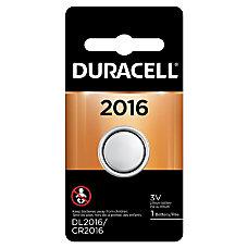 Duracell 3 Volt Lithium Battery 2016