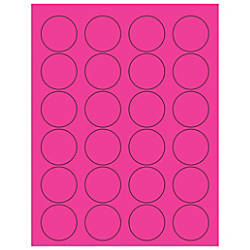 Office Depot Brand Labels LL193PK Circle