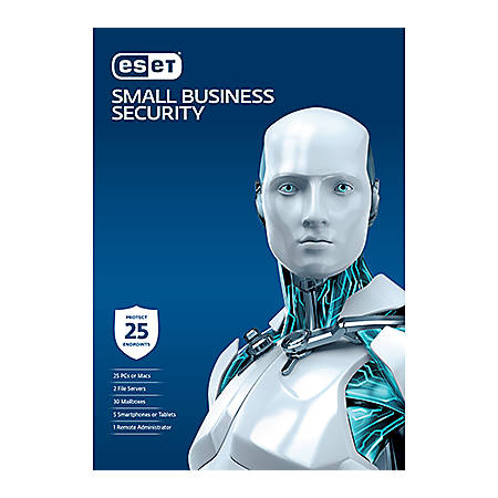 Small Business Security Pack - 25 Users 2 Years License, Download Version
