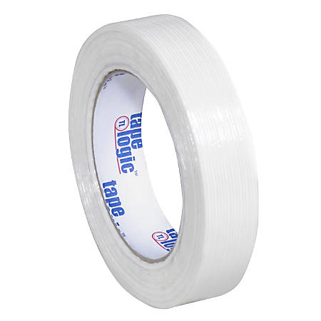 "Tape Logic® 1400 Strapping Tape, 1"" x 60 Yd., Clear, Case Of 24"