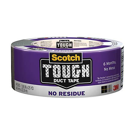 Scotch Tough No Residue Duct Tape 3 Core 1 88 X 25 Yd Gray