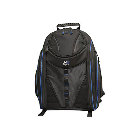 """Mobile Edge Express 15.6"""" to 16"""" Notebook & Tablet Backpack 2.0 - Notebook carrying backpack - 15.6"""" - 16"""" - black, royal blue"""