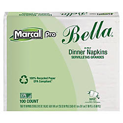 Marcal Eminence Bella 100percent Recycled Dinner