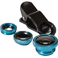 PoserSnap Fisheye Wide Angle Zoom Lens