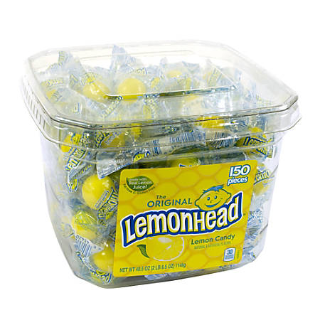 Lemonhead Tub, 150 Pieces