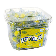 Lemonhead Tub 150 Pieces