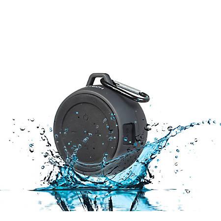BYTECH Portable Water-Resistant Wireless Speaker, Black, BY-AU-BS-128-BK