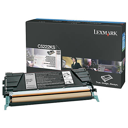 Lexmark™ C5220KS Return Program Black Toner Cartridge