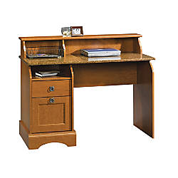 Sauder Graham Hill Desk With HutchAutumn