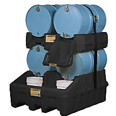 Justrite EcoPolyBlend Drum Management System 4
