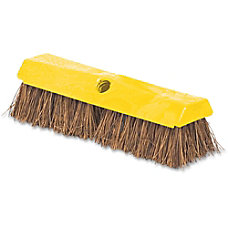 Rubbermaid Rugged Deck Brush Yellow