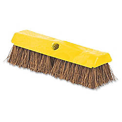 Rubbermaid Rugged Deck Brush Yellow