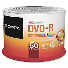Sony DVD Recordable Media DVD R