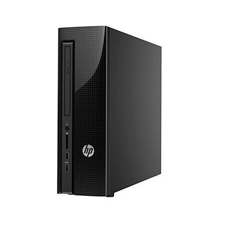 Hp Slimline Desktop Pc Intel Core I3 8gb Memory 1tb Hard Drive Windows 10 Officemax 25198303 227474