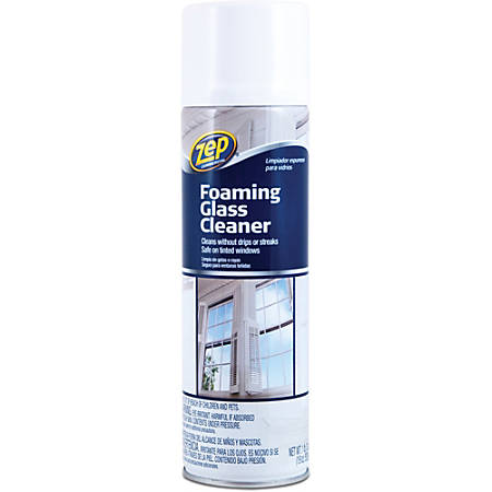 Zep Foaming Glass Cleaner, 19 Oz