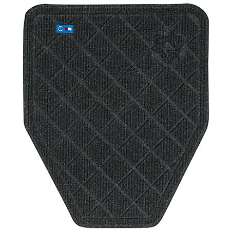 """The Andersen Company CleanShield Urinal Mats, 17 1/4"""" x 20 1/2"""", Charcoal, Pack Of 6"""