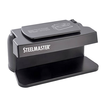 STEELMASTER® 200SM Counterfeit Currency Detector, Black