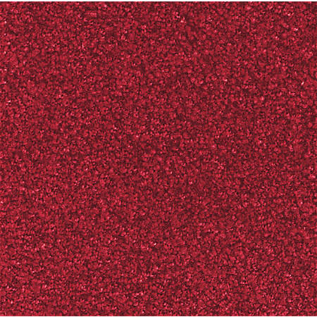 The Andersen Company Stylist Floor Mat, 2' x 3', Solid Red